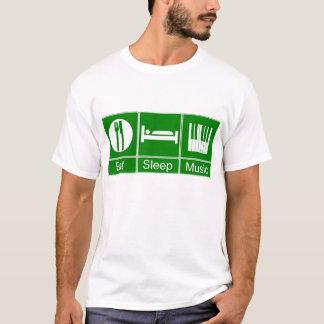 T-shirt EatSleepMusic