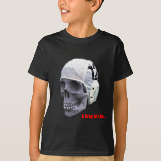 T-shirt eau-polo-crâne