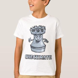 T-shirt Échec et mat drôle de pièce d'échecs de freux