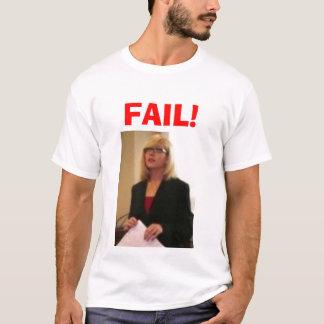 T-shirt ÉCHOUER de faux procès