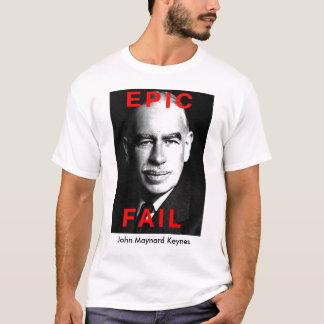 T-shirt Échouer de Keynes