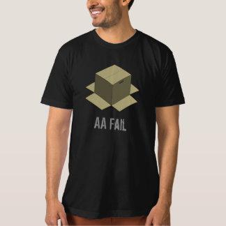 T-shirt Échouer solide de la boîte en carton de vitesse en