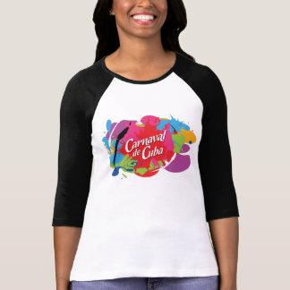 T-shirt Éclaboussure de Carnaval De Cuba