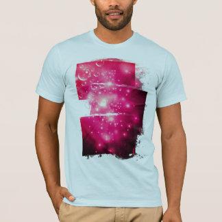 T-shirt Éclat de galaxie de framboise