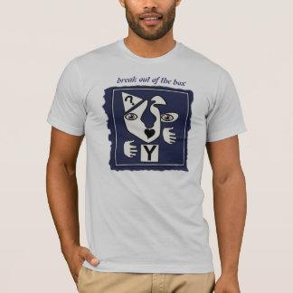 T-shirt Éclatez de la boîte
