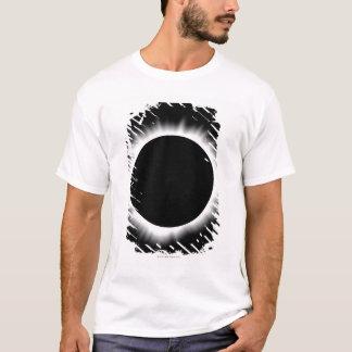T-shirt Éclipse solaire avec la couronne