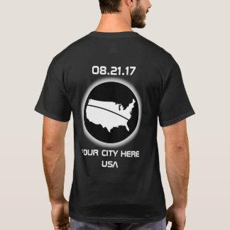 T-shirt Éclipsez votre ville 08.21.17