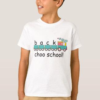 "T-shirt École de ""choo"" de dos !"