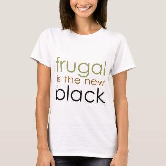 T-shirt Économe est le nouveau noir
