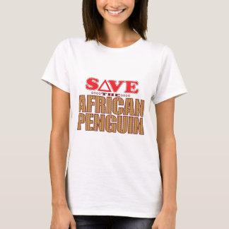 T-shirt Économies africaines de pingouin