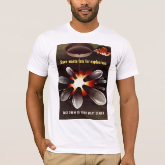 T-shirt Économisez pour des explosifs