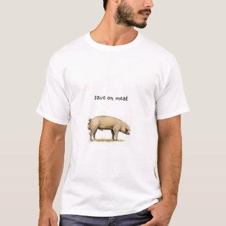 T-shirt économisez sur la viande