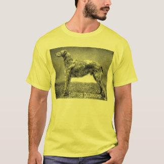 T-shirt écossais de limier