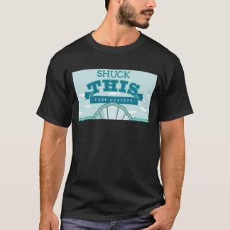 T-shirt Écossez ceci - les huîtres libres