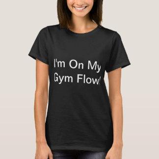 T-shirt Écoulement de gymnase