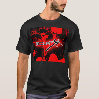 T-shirt ecour man abstract