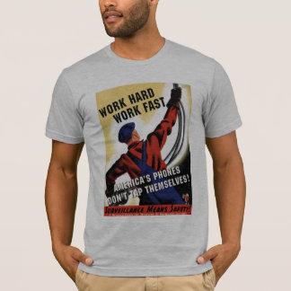 T-shirt Écoute illégale