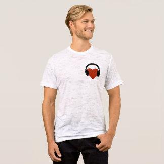 T-shirt Écouteurs sur votre coeur !