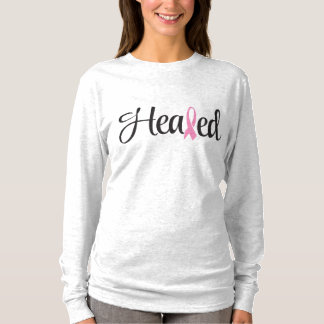 T-shirt Écriture sainte guérie de chemise de cancer du