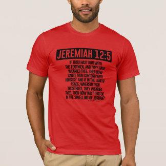 T-shirt écriture sainte Tee/RED de Jérémie des ministères