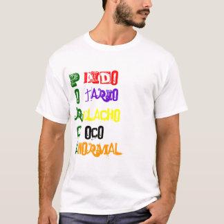 T-shirt Écrou Acrostica