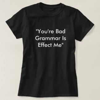 T-shirt Écrous de grammaire