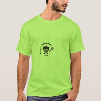 T-shirt écrous de tennis de chênes de forêt