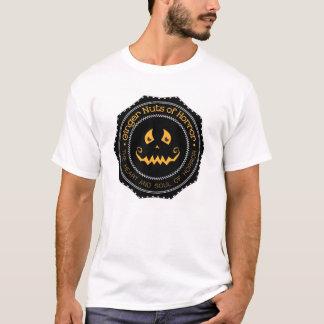 T-shirt Écrous du gingembre des hommes de chemise