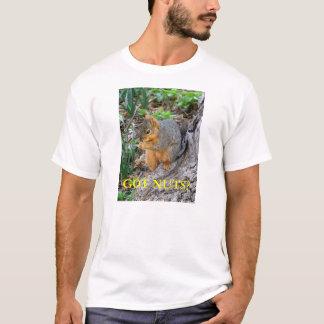T-shirt Écureuil : Écrous obtenus ?