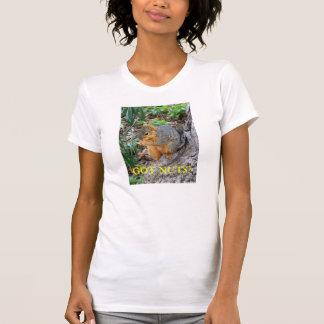 T-shirt Écureuil : Écrous obtenus