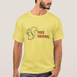 T-shirt Écureuil libre