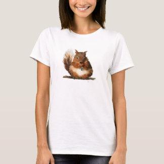 T-shirt Écureuil rond