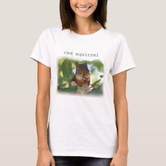 T-shirt Écureuil rouge