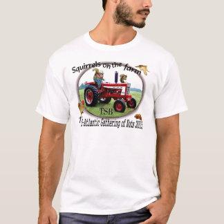 T-shirt Écureuils à la ferme