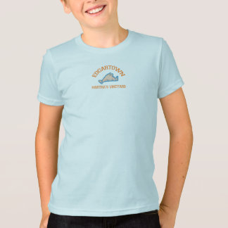 T-shirt Edgartown mA - Conception de fac