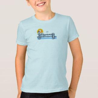 T-shirt Edgartown mA - Conception de pilier
