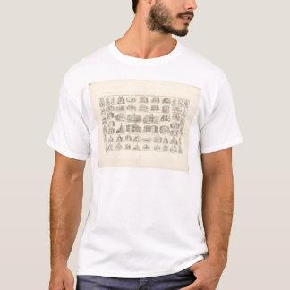 T-shirt Édifices publics de San Francisco (1372A)