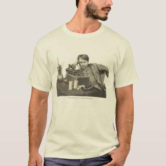 T-shirt Edison au phonographe