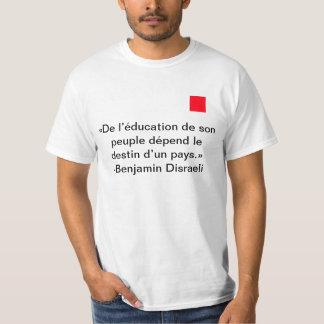 T-shirt Éducation du peuple