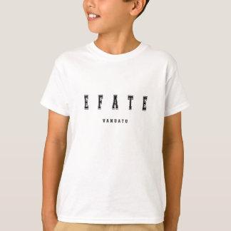 T-shirt Efate Vanuatu