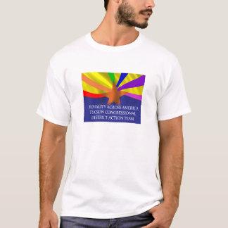 T-shirt Égalité à travers la chemise de l'Amérique Tucson