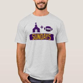 T-shirt Église et football dimanche