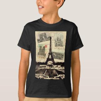 T-shirt Eiffel Tower vintage Paris