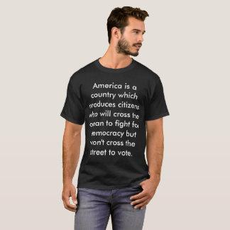 T-shirt Électeur T
