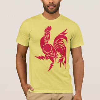 T-shirt électrique de jeune coq