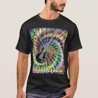 T-shirt Électrique teignez en nouant la chemise de magie