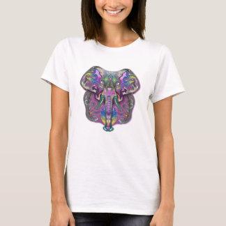 T-shirt Éléphant coloré