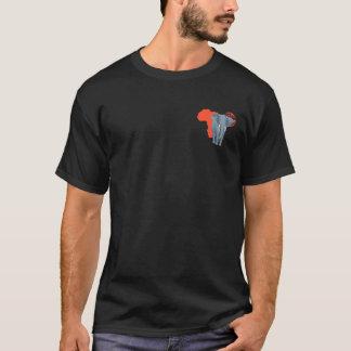 T-shirt Éléphant de l'Afrique