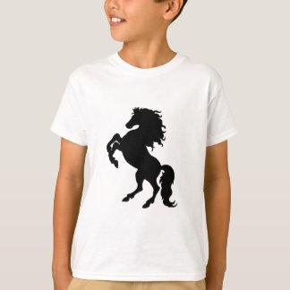 T-shirt Élevage de l'étalon/du cheval noirs