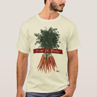 T-shirt Élevez-le bébé ! - Pièce en t de carottes